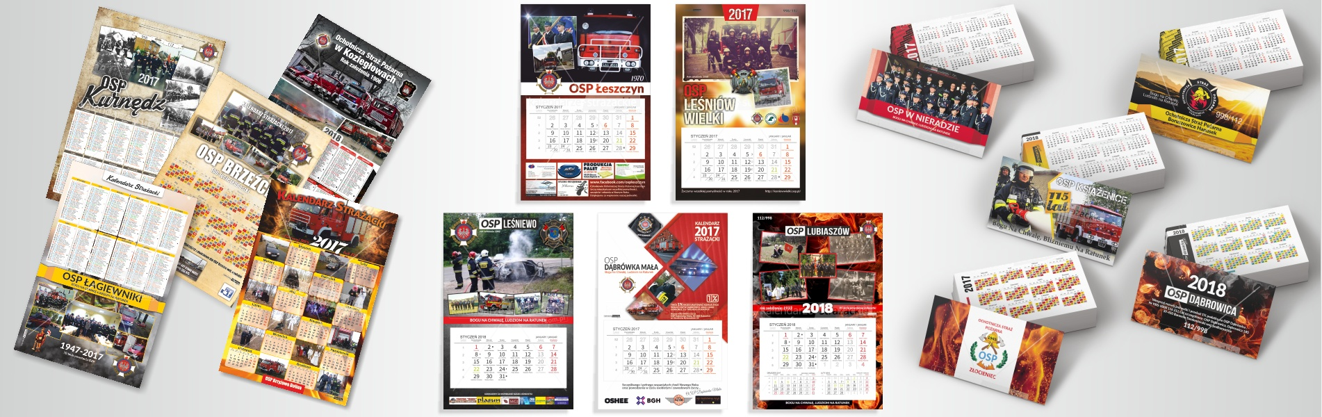 realizacje - kalendarze strażackie